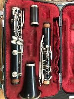 Used Normandy 4 intermediate Wood Clarinet Perfect for any experienced players