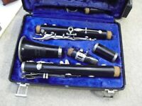 Vintage Selmer Resonite 577 Clarinet with Hard Plastic Case & Extra Mouthpiece