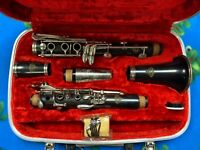 Evette E-10 Wood Clarinet Selmer Sponsored by Buffet Paris France Used SALE