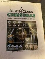 A Best in Class Christmas Bb Bass Clarinet Paperback Student Student SALE
