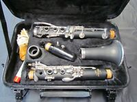 Selmer Aristocrat CL601 Clarinet w/case and music stand