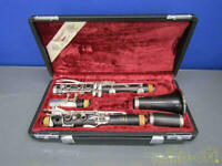 Professional YAMAHA CLARINET YCL-651 with Hard & Soft Case Used F/S from JAPAN
