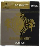 Rico Grand Concert Select Evolution Bb Clarinet Reeds Strength 3.0 10-pack
