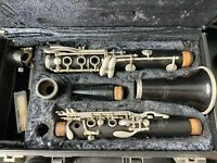 Noblet Paris Wooden Bb Clarinet   pre owned