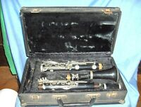 #531 - VINTAGE ARTLEY PRELUDE Bb STUDENT CLARINET IN CASE - SELMER, BUNDY