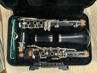 Yamaha YCL-250 Bb Clarinet, GREAT CONDITION, includes case, cover & rag cleaner.