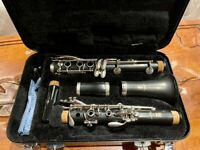 Yamaha YCL-255 Bb Clarinet Slightly Used Perfect Condition