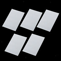 Lots 40 Clarinet Transparent Mouthpiece Patch Pad Rubber for Clarinet Accs