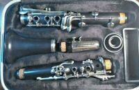 Buffet Crampon clarinet, with hard case and Nomad music stand, Made in Germany