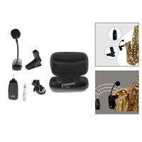 Instruments Microphone Saxophone Microphone for Sax Horn Tuba Clarinet Pipe