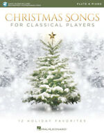 Christmas Songs for Classical Players - Flute and Piano 12 Holiday Favorites (Va