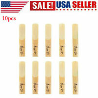 10PCS LADE Wooden Beating 2.5 bB Reeds 2 1/2 for Clarinet Yellow High Quality US
