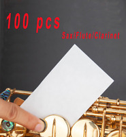 100 pc Pad Dryer for Saxophone Clarinet Flute Ligature Mouthpiece All Instrument
