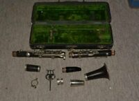 Penzel Mueller Low Pitch 'B' Clarinet Serial Number 7942 Service needed