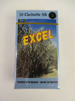 Clearance Marca Excel 2 Bb Clarinet Reeds,  Box of 10 French Reeds