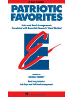 Patriotic Favorites for Bb Bass Clarinet Essential Elements Band Method Book