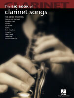 Big Book of Clarinet Songs 130 Popular Solos Sheet Music Collection Hal Leonard