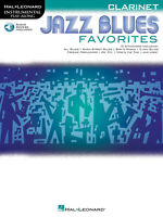 Jazz Blues Favorites for Clarinet Solo Sheet Music 12 Song Play-Along Book Audio