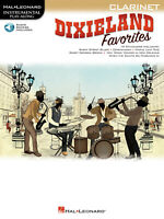 Dixieland Favorites Clarinet Solo Sheet Music Play-Along Song Book Online Audio