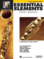 Essential Elements for Band Bb Bass Clarinet Solo Book 1 Beginner Online Media
