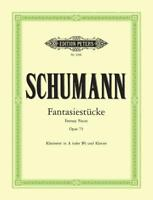Fantasy Pieces Op.73  Clarinet and Piano Robert Schumann Book Only EP2366