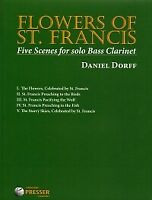 DORFF FLOWERS OF ST FRANCIS Solo Bass Clarinet