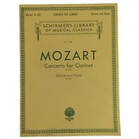 Concerto For Clarinet and Piano Volume 1792 Mozart K.622