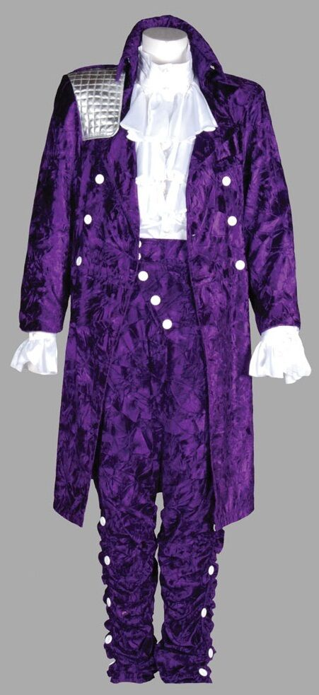 Deluxe Prince Rogers Nelson Purple Rain Costume L to XL