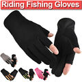 Mens Womens Fishing Gloves Bike Cycling Motorcycle Breathable Non-slip Gloves