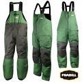 Frabill F2 Surge Bib Green 3X-Large 3X Fishing Rain Pant MSRP $150