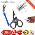 Stainless Steel Fishing Pliers Saltwater Braid Line Cutter Scissors Remover