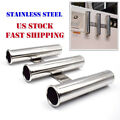 3 Tube Boat Fishing Rod Holder Stainless Steel Fishing Rod Rack for Marine Yacht