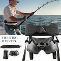 Boat Fishing Rod Holder Fighting Belt Shoulder & Back Harness Complete Package