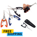 Fishing Pliers Saltwater Freshwater Hook Remover Line Cutter Stainless Steel New