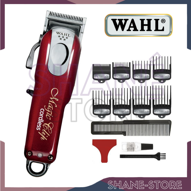 Wahl magic clip cordless tosatrice 5 star series tagliacapelli made u s a 