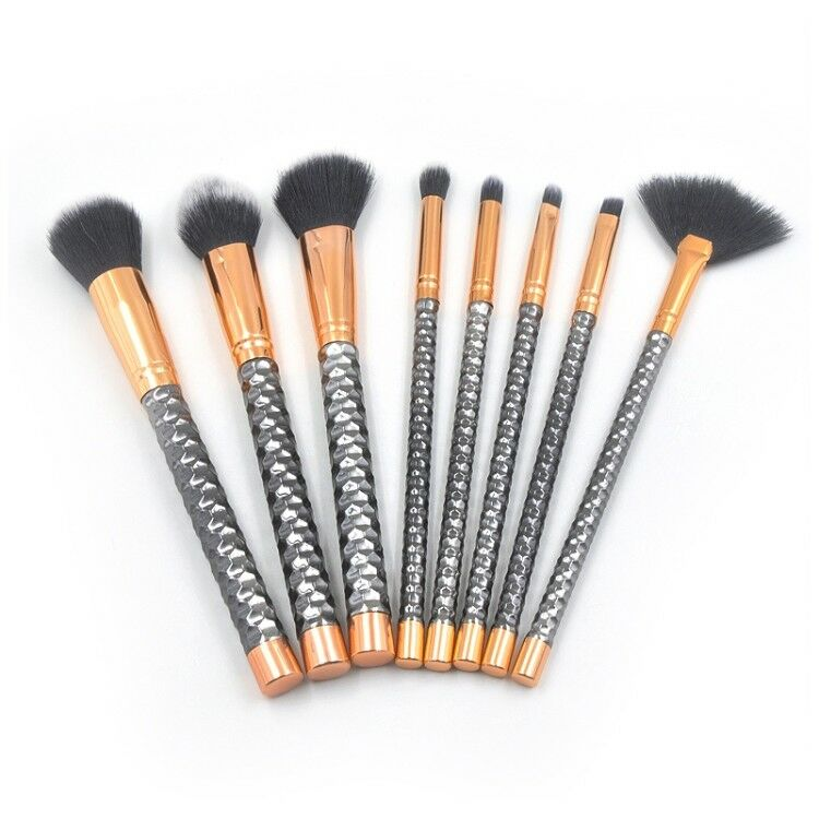 Pennelli professionali trucco set 8 pz make up makeup brushes donna cos 13 