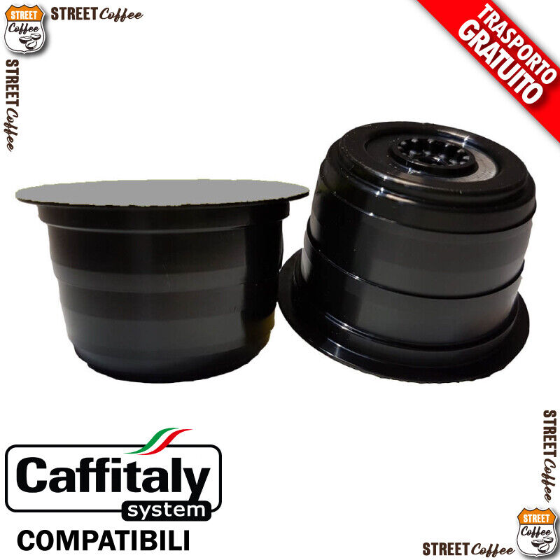100 cialde capsule caffe street coffee strong compatibile caffitaly caff italy Prezzo: € 20,00