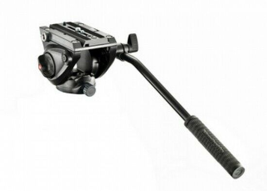 Manfrotto testa video mvh500ah con base piatta 