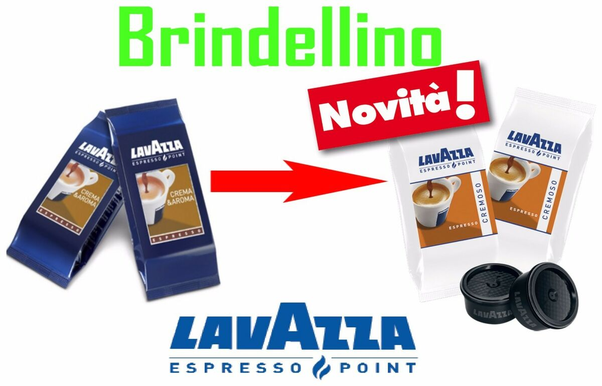 200 cialde capsule caffe lavazza cremoso web espresso point 2 kit accessori 
