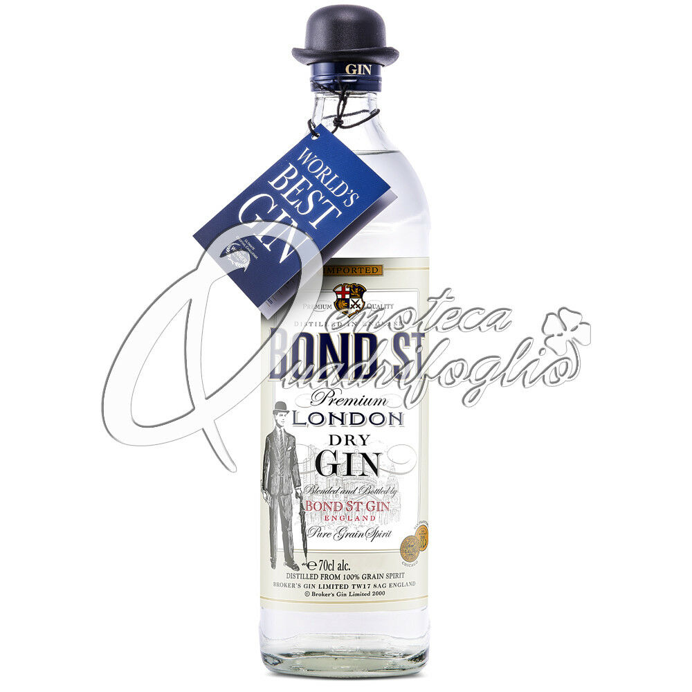 Gin bond st premium london dry gin brokers broker s gin 40 vol 