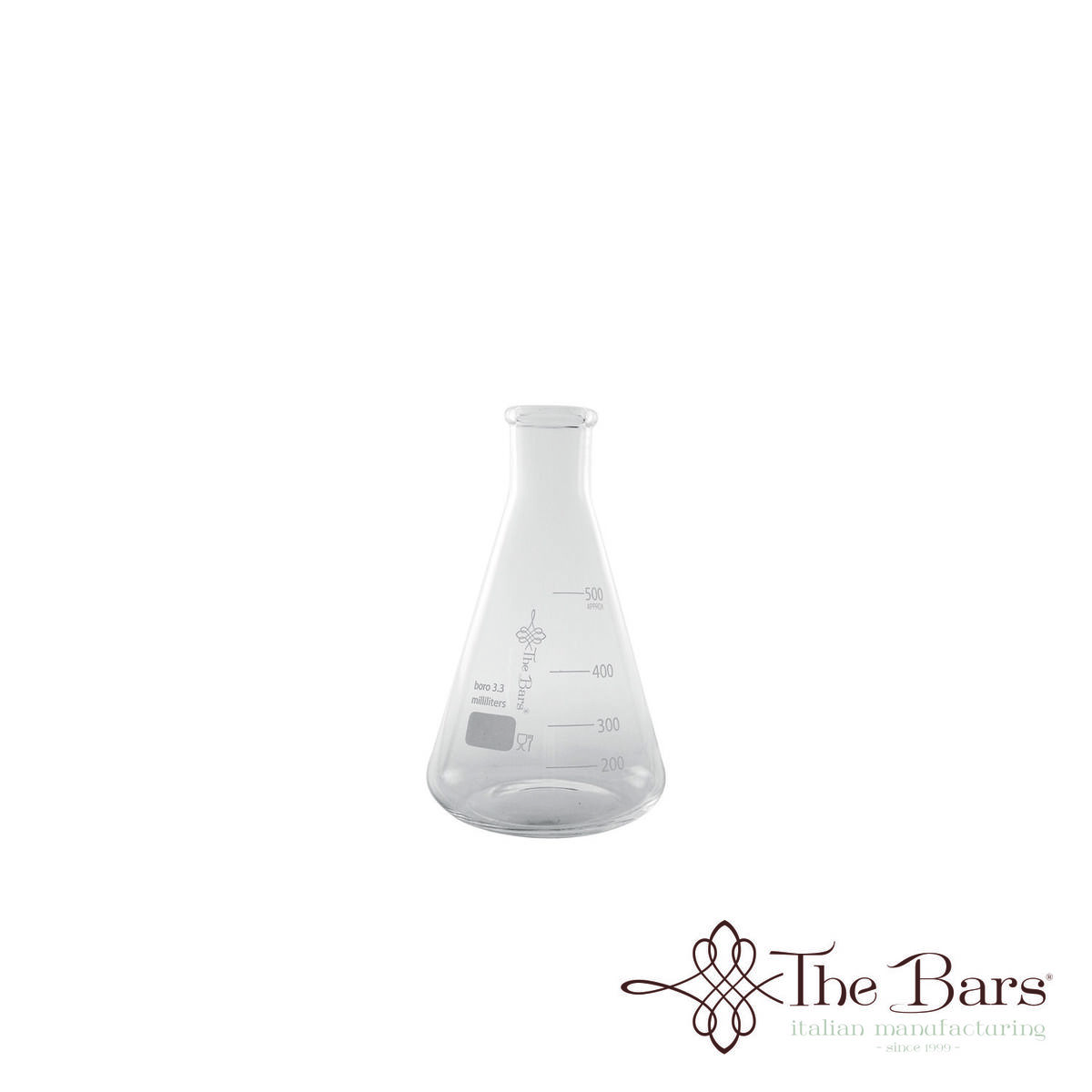 Ampolle da laboratorio flask da 500 ml in boro 3 3 barman laboratory e006m 