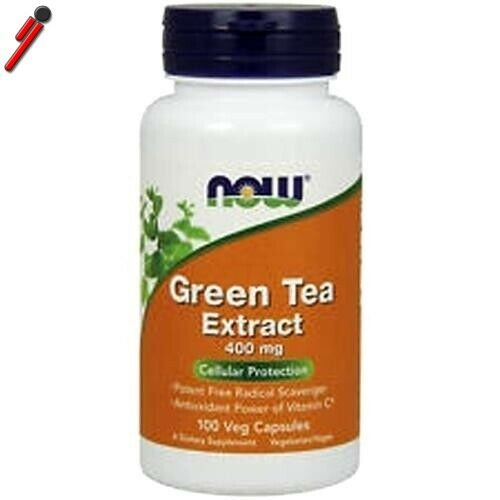 Now foods green tea extract 100 cps t verde con vitamina c 