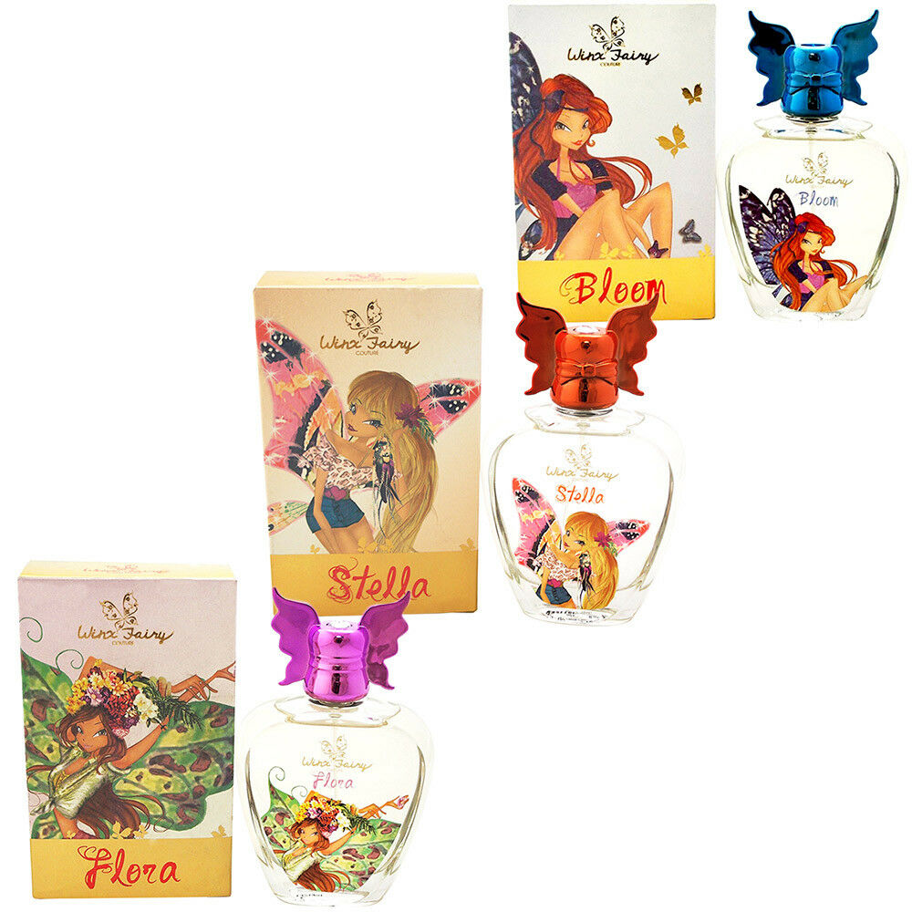 Winx fairy couture chic essence profumi varie fragranze 100ml o 50ml per bambine 