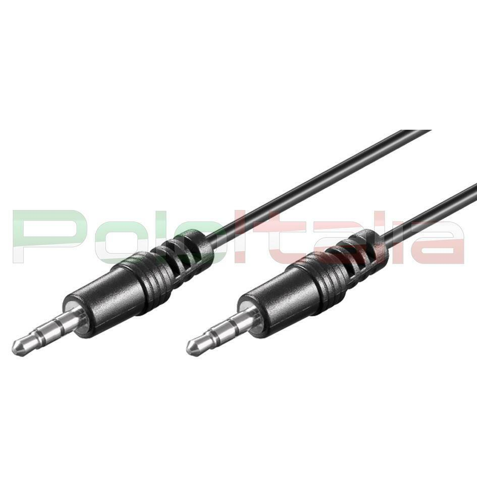 Cavo da 0 5 a 10m audio jack 3 5mm aux maschio stereo prolunga per casse pc tv 