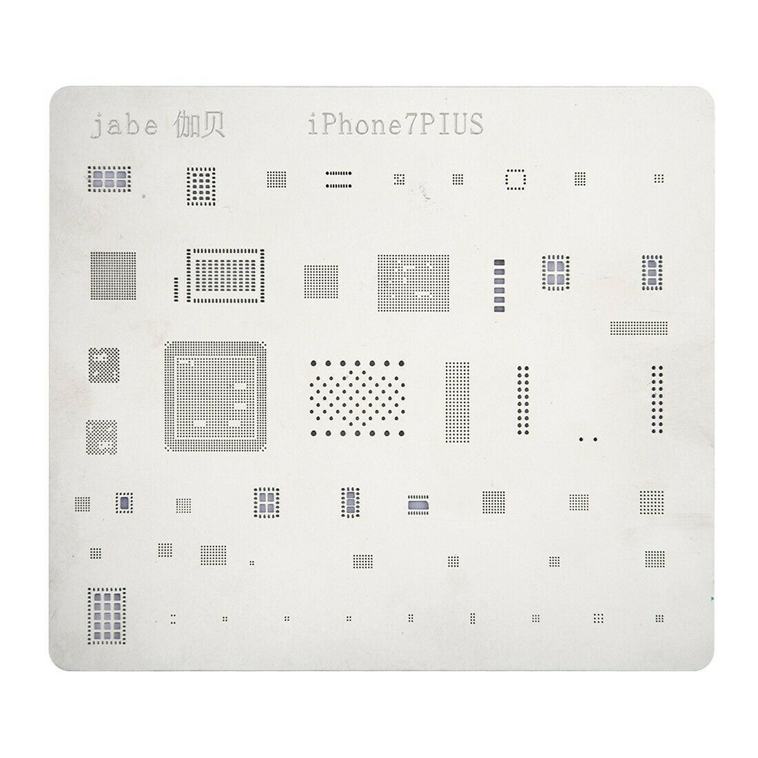 Mobile phone rework iphone 7 plus repair bga reballing stencils riparazione 