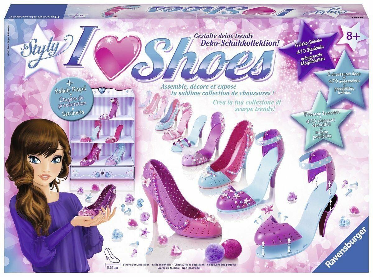 I love shoes scarpe da decorare bambina nuovo ravensburger 18535 