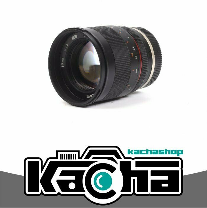 Nuovo samyang 50mm f1 2 as umc cs lens for sony e mount 