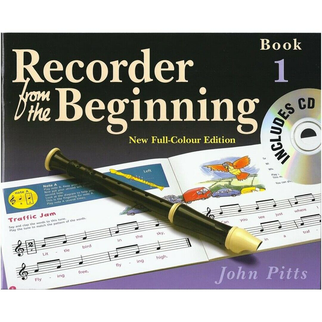 Recorder from the beginning pupil s book cd 1 