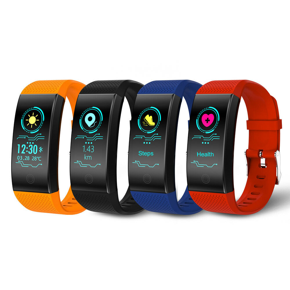 Nuovo smart fitness tracker sports smart orologi wristband bracelet smartband 