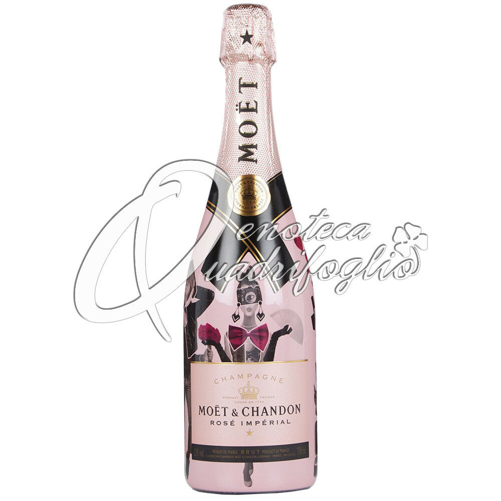Champagne moet chandon rose imperial unconventional love 2018 Prezzo: € 66,00